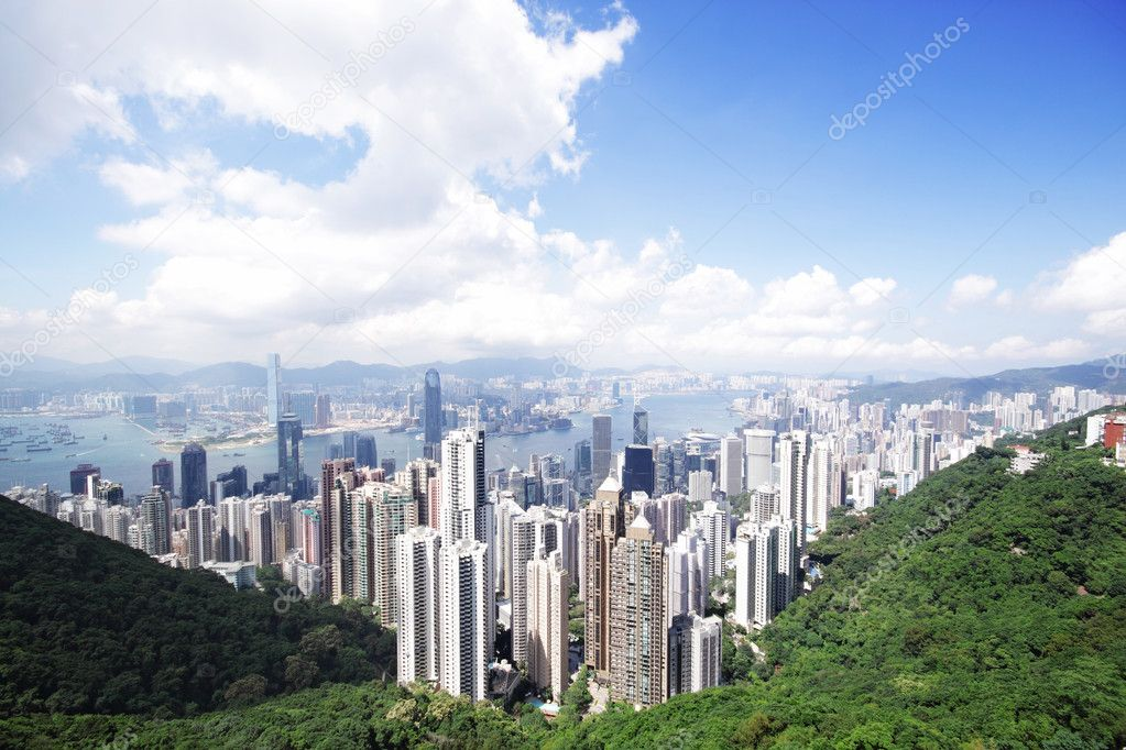 Hong Kong skylines  — Stock Photo #7179598