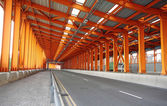 Interior of urban tunnel without traffic — Stockfoto
