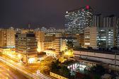 Urban downtown night — Stock Photo