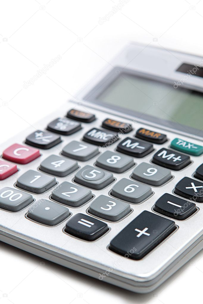 Large calculator.   Stock Photo #7348225