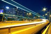 Urban area at night — Stock Photo