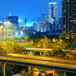 Highway through downtown in Hong Kong — Stock Photo #7736689