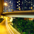 Stock Photo: Downtown areand overpass in hong kong