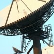 Satellite Communications Dishes on top of TV Station — Stock Photo #7736895