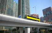 Traffic highway in urban area — Stock Photo