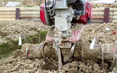 Farming tractor — Stock Photo