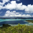 Bora Bora from above — Stock Photo
