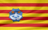 Vlajka menorca — Stock fotografie