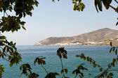 View of Castell De Ferro Village from Playa Del Lance — Stock Photo