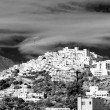 Mojacar Village in Black and White — Stock Photo