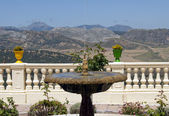 View of mountains south of Ronda, Spain — Stock Photo