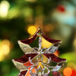 Transparent Christmas Tree — Stock Photo