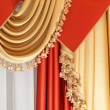 Drapery - part of home interior — Stock Photo