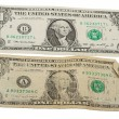 Old and New One Dollar Bill — Stock Photo #7885368