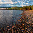 Stock Photo: River Uur in Mongolia
