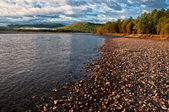 River Uur in Mongolia — Stock Photo
