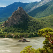 Natonal park Burabay in Kazakhstan - Stock Photo