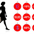 Soldes - Stock Photo
