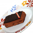 Chocolate cake — Stock Photo #7861133