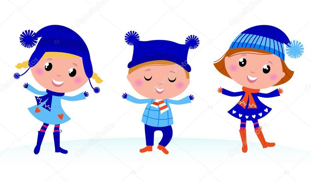 Znalezione obrazy dla zapytania zima grafika dla dzieci