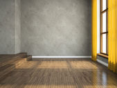 Empty room — Stock Photo