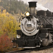 Steam Engine Locomotive - Stock Photo