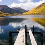 Mountain Lake in Autumn — Stock Photo #7086613