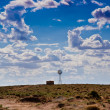 Navajo Country Windmill — Stock Photo