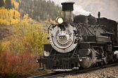 Steam Engine Locomotive — Stock Photo