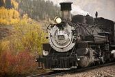 Steam Engine Locomotive — Stock Photo