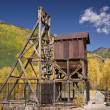 Stock Photo: Colorado Mine in Autumn