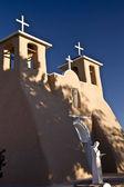 Historic Taos Church — Stock Photo