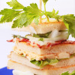 Royalty-Free Stock Photo: Club sandwiches