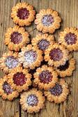 Jelly cookies — Stock Photo