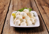 Mozzarella cheese — Stock Photo