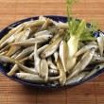 Fresh anchovies — Stock Photo
