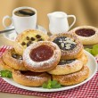 Постер, плакат: Festival Cakes and a Cup of Coffee