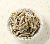 Fresh sprats — Stock Photo
