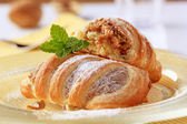 Sweet puff pastry — Stock Photo