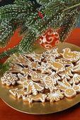 Galletas de jengibre de navidad — Foto de Stock