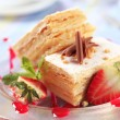 Mille-feuille pastry — Stock Photo #7641951