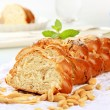 Sweet braided bread — Foto de stock #7704738