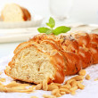 Sweet braided bread — Stockfoto #7704738