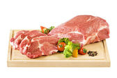 Raw pork meat — Stock Photo