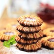 Jelly cookies - Stock Photo