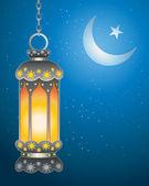 Ramadan lantern — Stock Vector