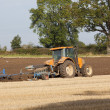 Plowing autumn stubble — Stock Photo #6954187