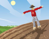 Scarecrow — Stock Vector