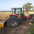 Stock Photo: Three wheeled tractor
