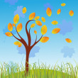 Autumn tree — Stock Vector #7174792